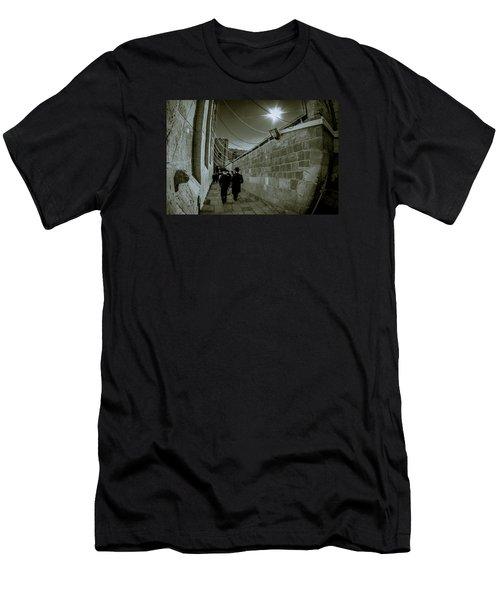 Jewish Promenade Men's T-Shirt (Athletic Fit)