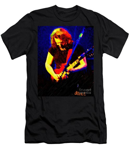 Men's T-Shirt (Slim Fit) featuring the photograph Stella Blue by Susan Carella