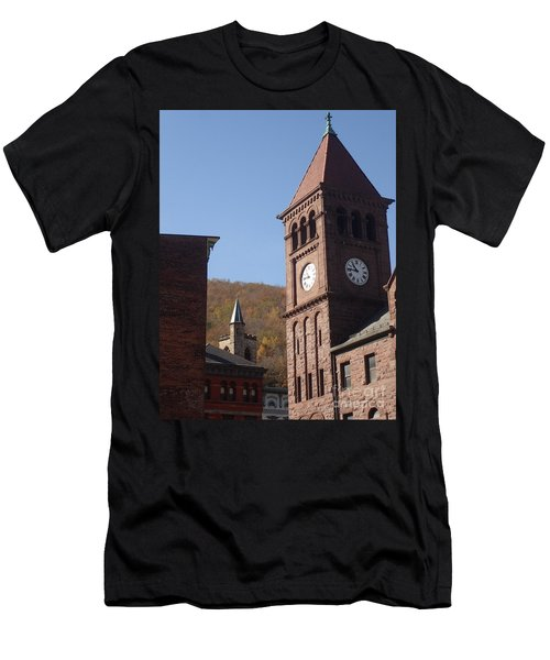 Jim Thorpe Rooftops Men's T-Shirt (Athletic Fit)