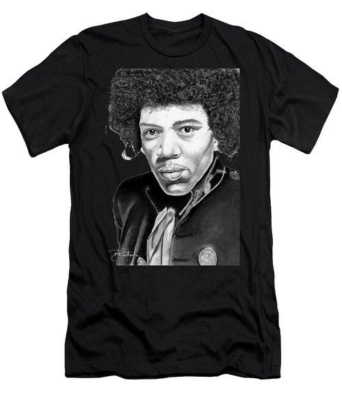 Jimi Hendrix Men's T-Shirt (Athletic Fit)