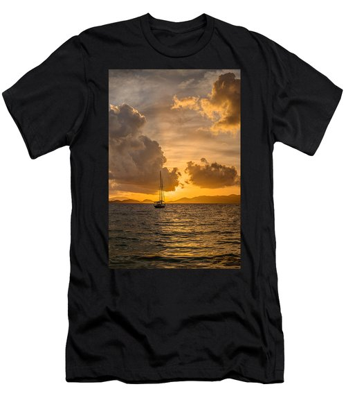 Jimmy Buffet Sunrise Men's T-Shirt (Athletic Fit)