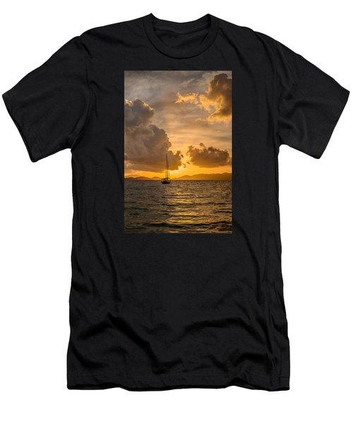 Jimmy Buffet Sunrise Men's T-Shirt (Athletic Fit)