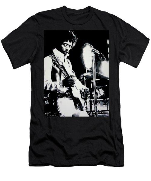 Jimmy Hendrix Purple Haze Men's T-Shirt (Athletic Fit)