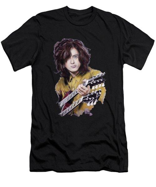 Jimmy Page 1 Men's T-Shirt (Athletic Fit)