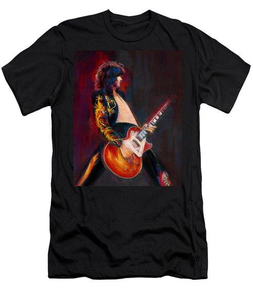 Jimmy Page Men's T-Shirt (Athletic Fit)