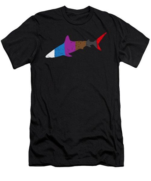 Jiu Jitsu Bjj Shark Jiu Jitsu Belts Light Men's T-Shirt (Athletic Fit)