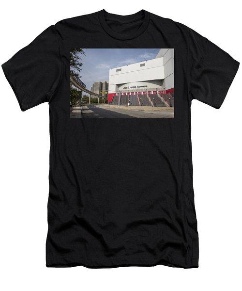 Joe Louis Arena  Men's T-Shirt (Athletic Fit)