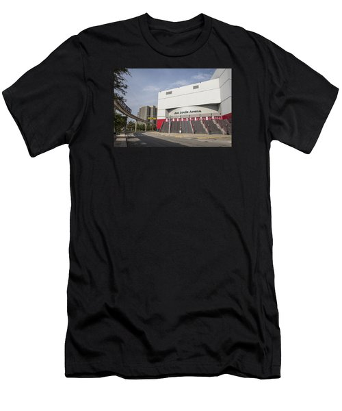 Joe Louis Arena  Men's T-Shirt (Athletic Fit)