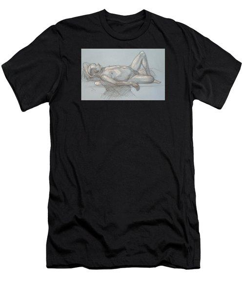 Joey Reclining #1 Men's T-Shirt (Athletic Fit)