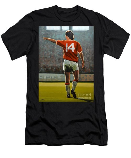 Johan Cruyff Oranje Nr 14 Men's T-Shirt (Athletic Fit)