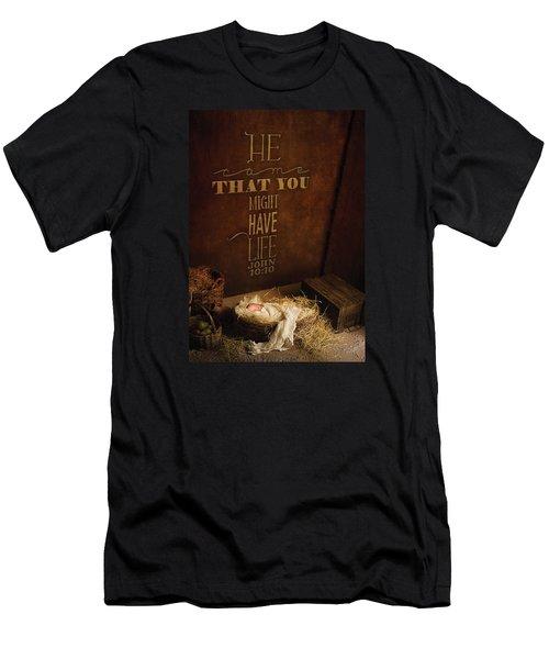 John 10 Men's T-Shirt (Athletic Fit)