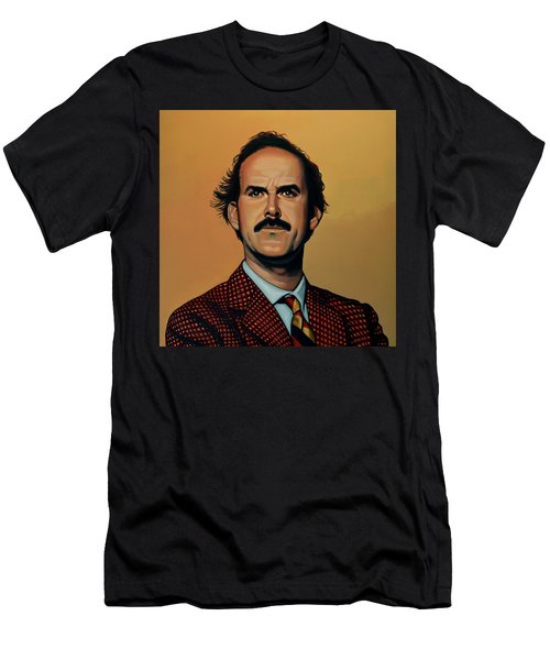John Cleese Men's T-Shirt (Slim Fit) by Paul Meijering