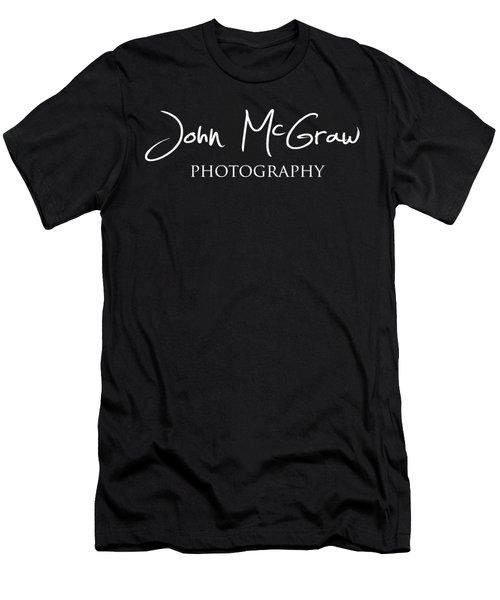 John Mcgraw Photography Logo 2 Men's T-Shirt (Slim Fit) by John McGraw