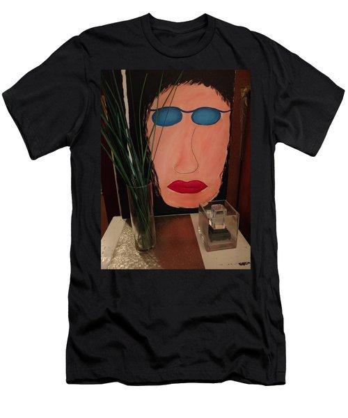 Johnlennonborderline Men's T-Shirt (Athletic Fit)