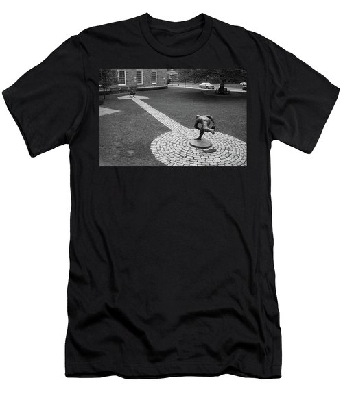 Copperstown Ny Johnny Padres Pitching To Roy Campanella La Dodgers Baseball  Men's T-Shirt (Athletic Fit)