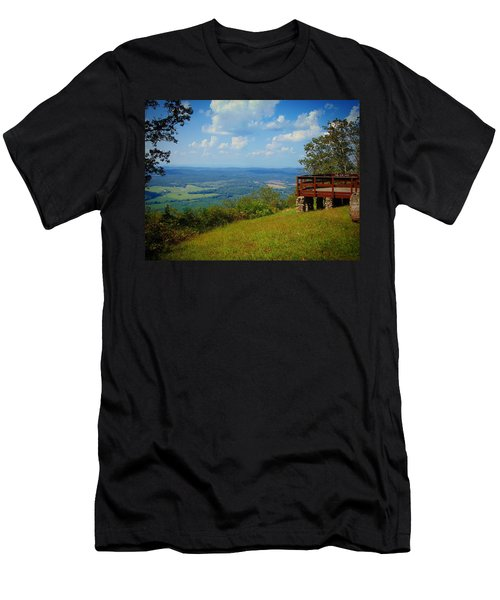 John's Mountain Overlook Men's T-Shirt (Athletic Fit)