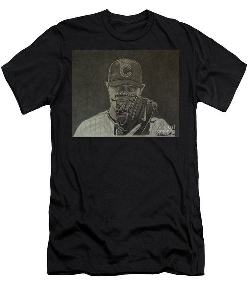 Jon Lester Portrait Men's T-Shirt (Athletic Fit)