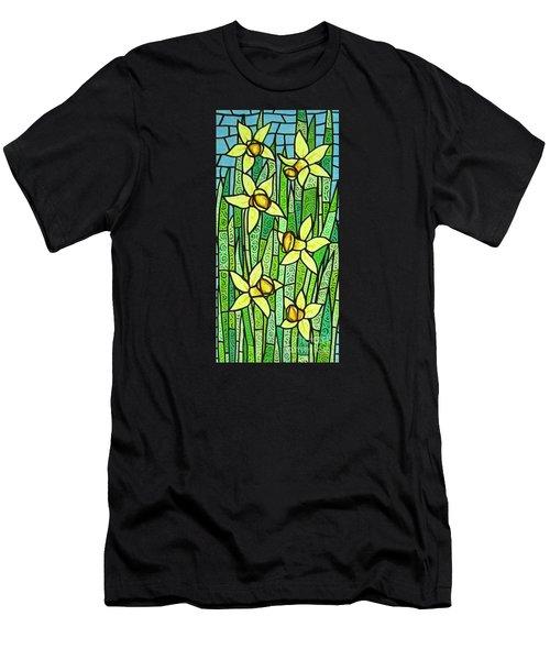 Jonquil Glory Men's T-Shirt (Slim Fit) by Jim Harris