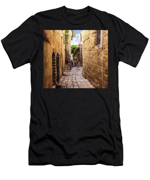 Joppa Israel Passageway Men's T-Shirt (Athletic Fit)