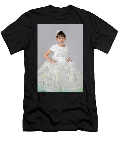Josette In Dryer Sheet Dress Men's T-Shirt (Athletic Fit)