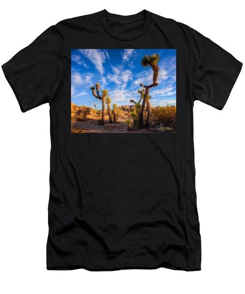 Joshua Tree Dawn Men's T-Shirt (Athletic Fit)