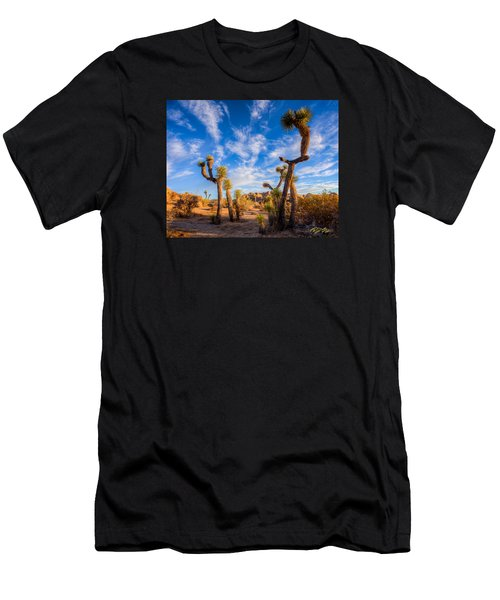 Men's T-Shirt (Athletic Fit) featuring the photograph Joshua Tree Dawn by Rikk Flohr