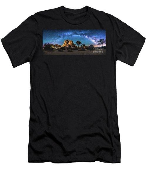 Joshua Tree Milkyway Men's T-Shirt (Athletic Fit)