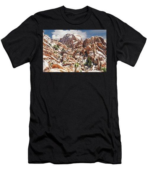 Joshua Tree National Park - Natural Monument Men's T-Shirt (Athletic Fit)