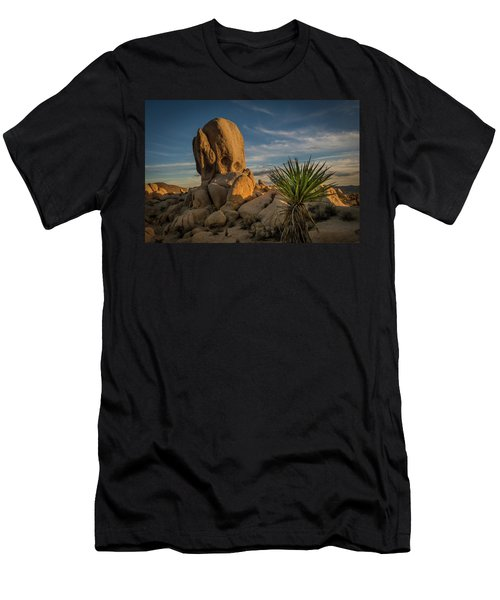 Joshua Tree Rock Formation Men's T-Shirt (Athletic Fit)