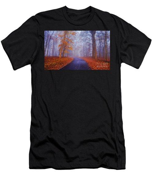Journey Continues Men's T-Shirt (Athletic Fit)