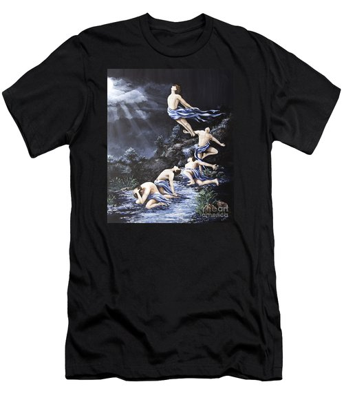 Journey Into Self Male Men's T-Shirt (Athletic Fit)