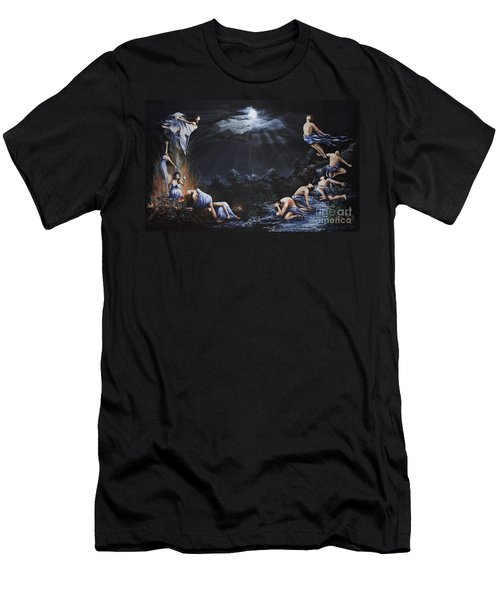 Journey Into Self Men's T-Shirt (Athletic Fit)