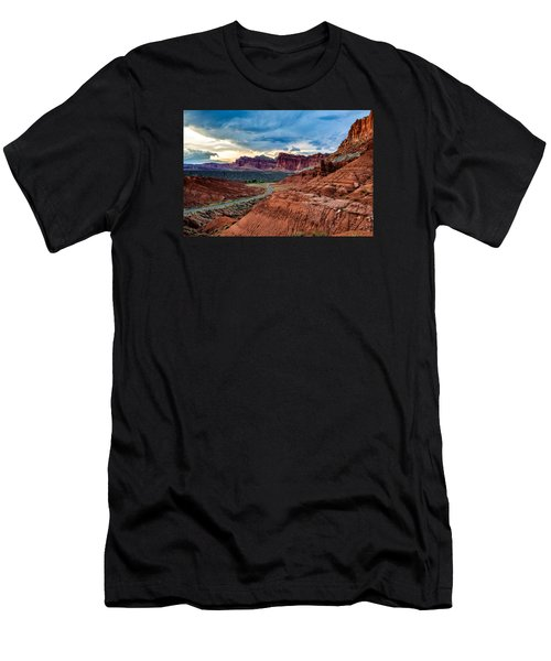 Journey Through Capitol Reef Men's T-Shirt (Athletic Fit)