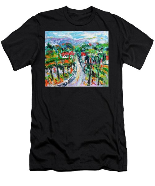 Journey Through The Vines Men's T-Shirt (Athletic Fit)