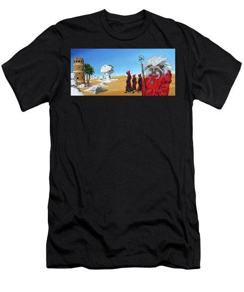 Journey To The White Desert Men's T-Shirt (Athletic Fit)