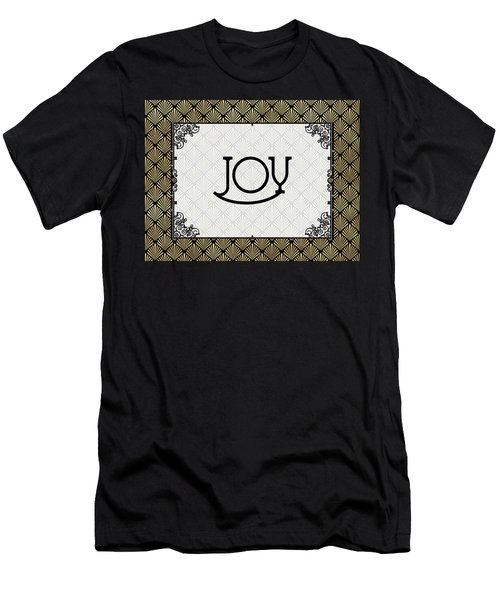 Joy - Art Deco Men's T-Shirt (Athletic Fit)