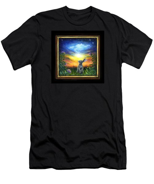 Joy Comes In The Morning Men's T-Shirt (Slim Fit) by Retta Stephenson