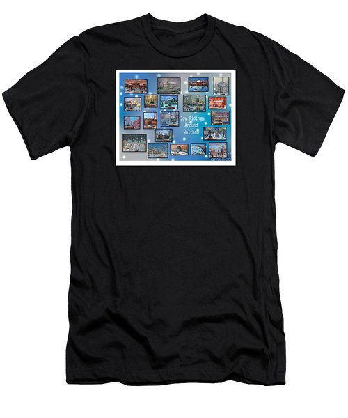 Joy Riding Around Waltham Men's T-Shirt (Athletic Fit)
