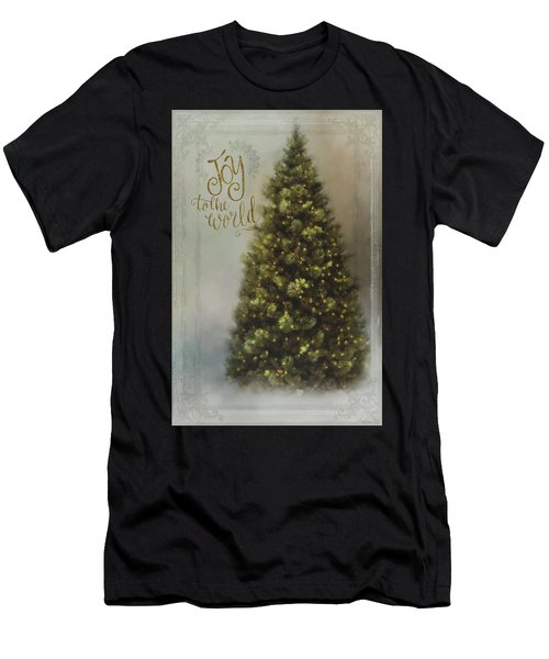 Joy To The World Men's T-Shirt (Athletic Fit)