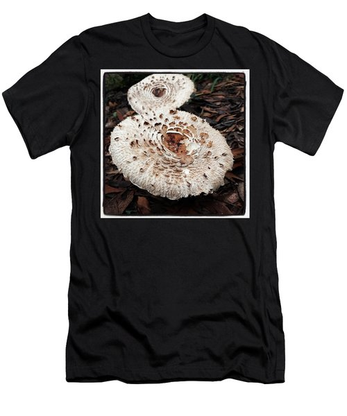 Men's T-Shirt (Athletic Fit) featuring the photograph Joy Walking In The Woods by Mr Photojimsf
