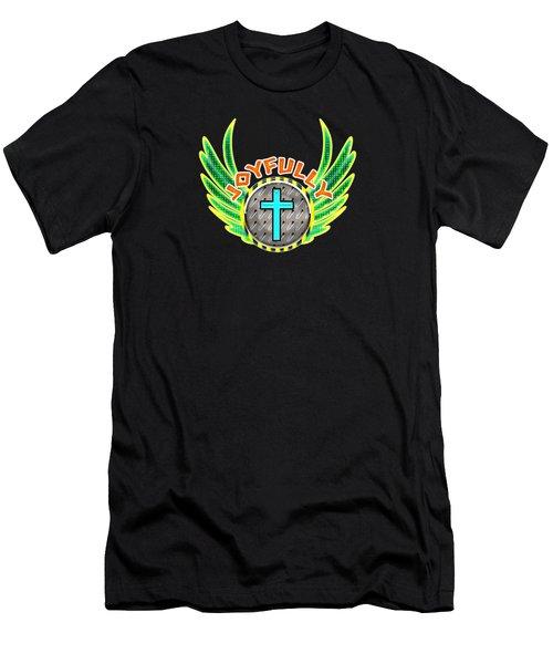 Joyfully Men's T-Shirt (Athletic Fit)