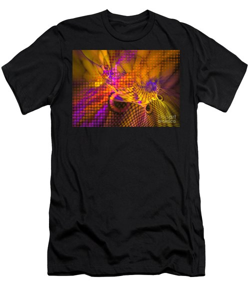Joyride - Abstract Art Men's T-Shirt (Athletic Fit)
