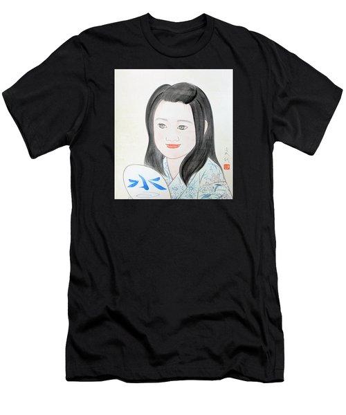 Jozen Mizu No Gotoshi Men's T-Shirt (Athletic Fit)