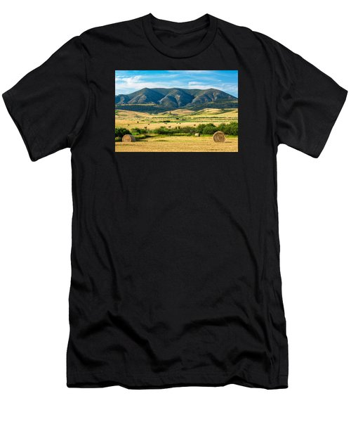 Men's T-Shirt (Athletic Fit) featuring the photograph Judith Mountain Memories by Todd Klassy