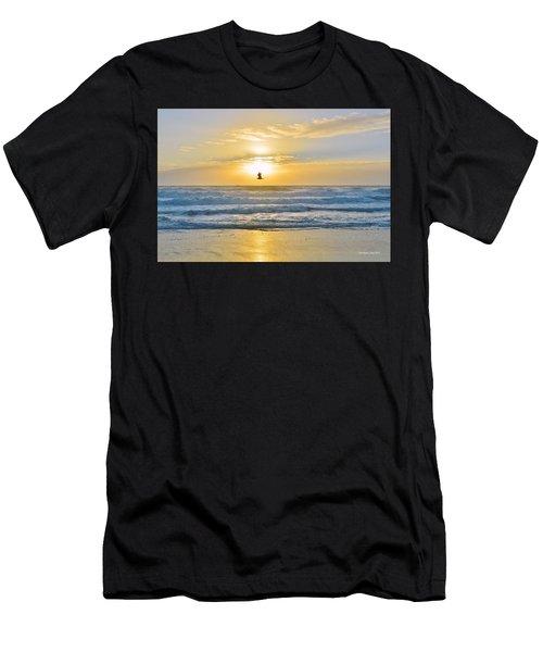 July 30 Sunrise Nh Men's T-Shirt (Athletic Fit)