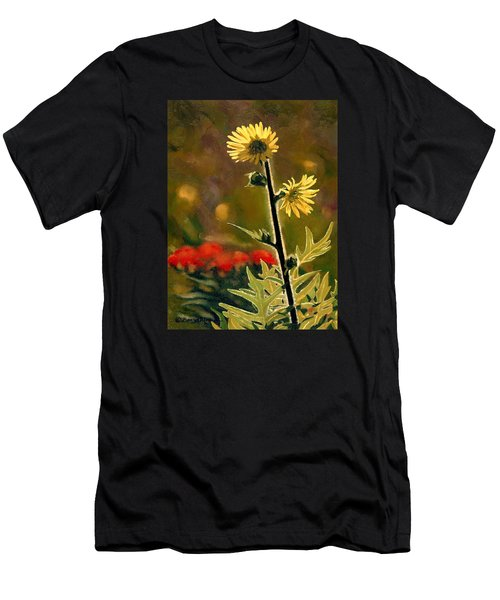 July Afternoon-compass Plant Men's T-Shirt (Athletic Fit)