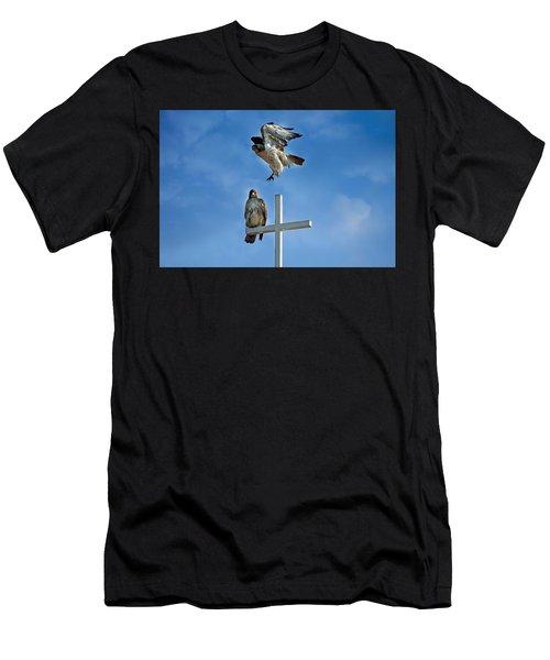 Jump Men's T-Shirt (Athletic Fit)