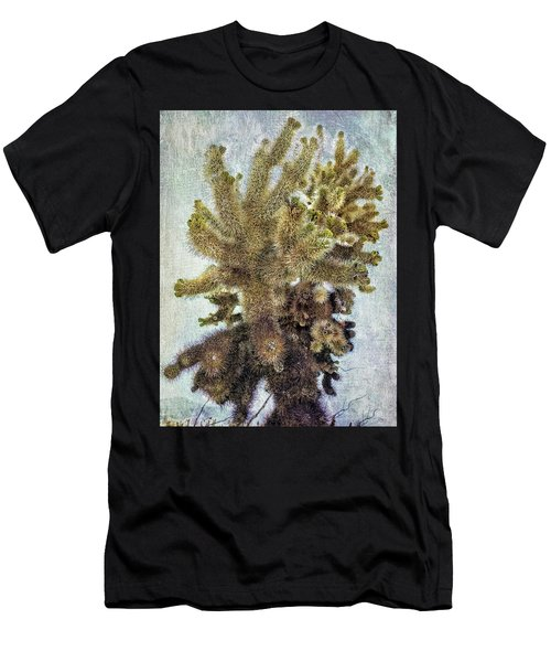 Jumping Cholla Men's T-Shirt (Athletic Fit)