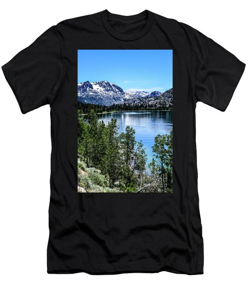 June Lake Portrait Men's T-Shirt (Athletic Fit)