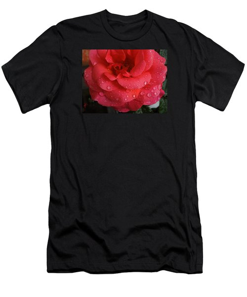 June  Rose  Men's T-Shirt (Athletic Fit)